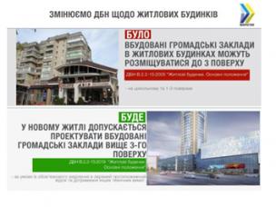 З 1 грудня житлові будинки будуватимуть за новими будівельними нормами